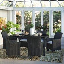 6-Sitzer Gartengarnitur Italy mit Polster