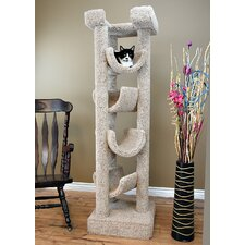 "72"" Premier Solid Wood Cat Tree"