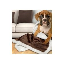 Sherpa Reversible Microplush Pet Blanket/Throw