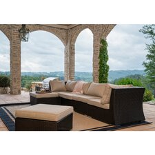 Perrone Sectional Sofa with Cushions