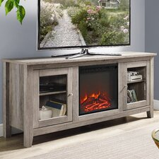 "Riverwoods 58"" TV Stand with Electric Fireplace"