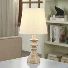 "Evelyn Polyresin 15"" Table Lamp"
