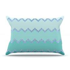 Monika Strigel 'Avalon Coral Ombre' Pillow Case