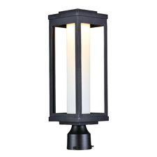 Cavazos Outdoor 1-Light LED Black Lantern Head