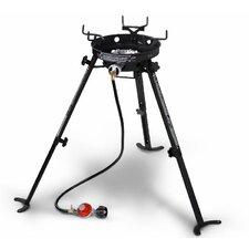 Portable Kahuna 1-Burner Propane Outdoor Stove with Adjustable Legs