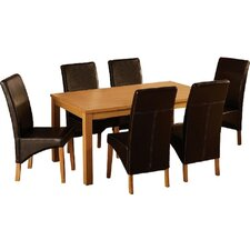 Samira Dining Set with 6 Chairs