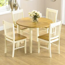 Orkneys Folding Dining Set with 4 Chairs