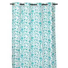Macdonald Paisley Semi-Sheer Single Curtain Panel