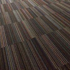 """Portland 24"""" x 24"""" Carpet Tile in Black Velvet"""