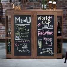 Myranda Transitional Bar with Wine Storage