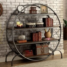 "Hamburg Industrial 59.13"" Etagere Bookcase"