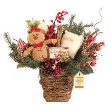 Gingerbread Kisses Basket