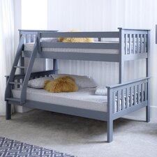 Aaron Triple Sleeper Bunk Bed with Mattress