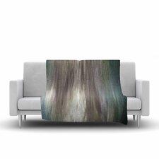 Ebi Emporium Silver Screen Dreams Painting Fleece Throw