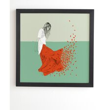 'The Red Wolf Woman Color 9' Graphic Art Print