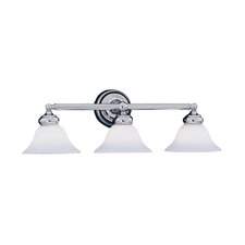 Opal Essence 3-Light Vanity Light