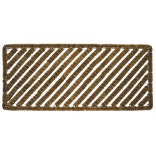 Stripes Long Doormat Boot Scraper
