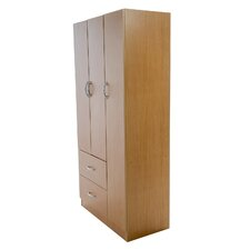 Wardrobe with Three Doors in Maple