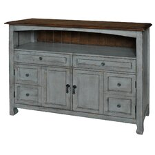 Juliane Accent Cabinet with Wood Top