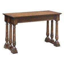 Brookline 6 Turned Post Oak Console Table