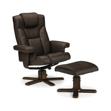 Annandale Swivel Recliner and Footstool