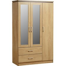 Keith 3 Door Wardrobe