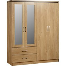 Keith 4 Door Wardrobe