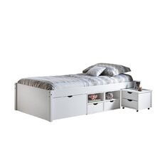 Martin European Single Bed with Storage