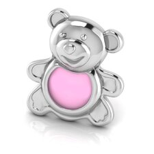 Sterling Silver Teddy Picture Frame