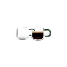 2-tlg. Espressotassen-Set Double Wall
