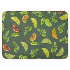 Lemons, Limes and Oranges Memory Foam Bath Rug
