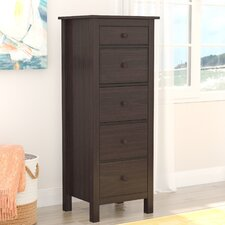 Logan 5 Drawer Lingerie Chest