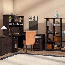 Hillsdale 4-Piece L-Shape Desk Office Suite