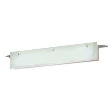 Suspended Glass 1-Light Bath Bar