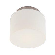 1-Light Drum Semi Flush Mount