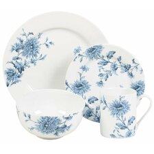 Denim 16 Piece Dinnerware Set