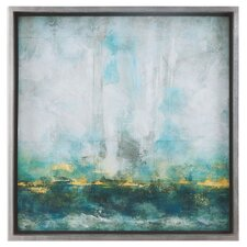 Abstract Art Framed Painting Print