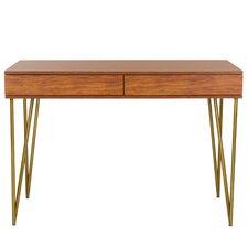 Sandara Pine 2 Drawer Writing Desk