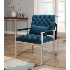 Botelho Stainless Steel Arm Chair