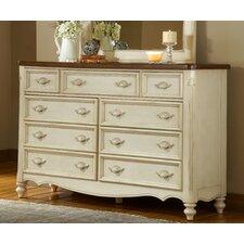 Brecon Triple 9 Drawer Dresser
