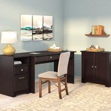 Hillsdale 3-Piece Standard Desk Office Suite