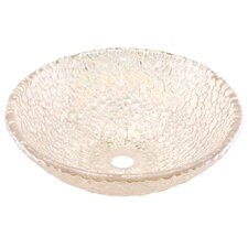 Pebble Circular Vessel Bathroom Sink