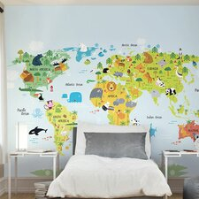 The Whole Wide World 3m x 240cm Wall Mural