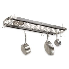 Ceiling Oval Hanging Pot Rack