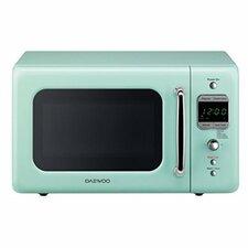 Retro 17.6'' 0.7 cu. ft. Countertop Microwave