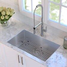 """32"""" x 19"""" Undermount Kitchen Sink"""