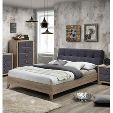 Fabric Upholstered Platform Bed