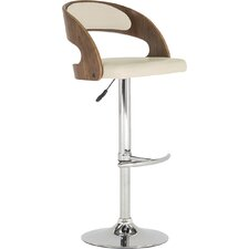 Aghancrossy Height Adjustable Swivel Bar Stool
