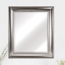 Contemporary Rectangular Plastic Framed Wall Mirror