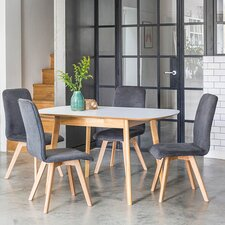 Berrick Extendable Dining Table and 4 Chairs